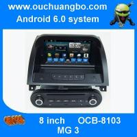 Ouchuangbo car multi media dvd android 6.0 for MG 3 with iPhone and Android phone connect to car radio