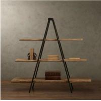 American Style Country Furniture Free Standing Display Rack Showing Stand DX-K153