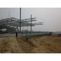 Q235 Steel Pipe Truss , Prefabricate Truss Structure with AutoCAD