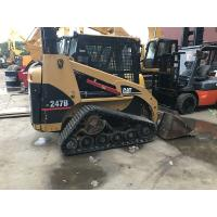 Used Rubber Track Caterpillar Skid Steer Loader 247b With Original Paint