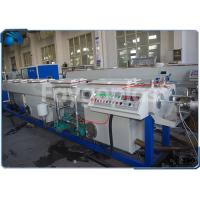 PVC Electrical Conduit Pipe Making Machine With Dual Outlet Extrusion Twin Screw