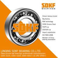 SDKF 6304-2RS-ZZ High Standard Precision Chrome Steel Deep Groove Ball Bearing