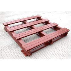 China Custom Shipment Wood Plastic Composite Pallet Decking and WPC Tray on sale