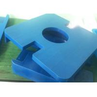 Engineering Machinery Parts / Plastic CNC Machine Parts For Household Electronic Parts