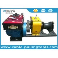 Heavy Load 80KN Cable Winch Puller For Overhead Line Transmission