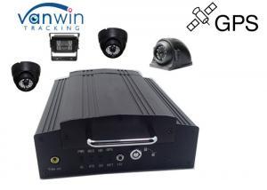 4ch Hard disk car camera dvr video recorder GPS for cctv camera system