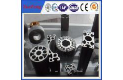La Chine Extrusion en aluminium de taille faite sur commande, radiateur rond anodisé chaud d'extrusion en aluminium de profil fournisseur