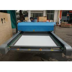 China Polyester Apparels Large Format Heat Press Machine With Dual Work Table on sale
