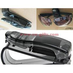 China Car Sun Visor Glasses Sunglasses Ticket Receipt Card Clip Storage Holder Storage Shelf Car Organizer Accessories Platic on sale