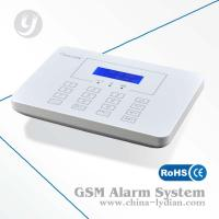 Gsm Wireless Alarm System LCD Display And Touch Keypad Multi-language Option