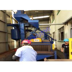 China Customized Auto Shot Blasting Machine For Steel Frames Treatment on sale