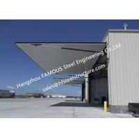 Strap Lift One Piece Door Tip Up Canopy Hydraulic Folding Doors Ideal For Aircraft Buildings