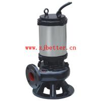 JYWQ,JPWQ automatic agitating submersible sewage pump