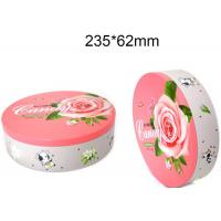 Round Hinged Altoid Case Food Packing Boxes Empty Mint Tin Cans Long Lifespan