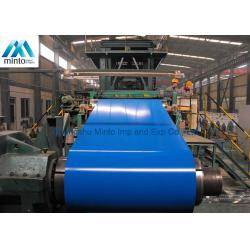 China Galvanized Pre Painted Steel Coil Color Coated Roofing Sheets ISO Certification on sale
