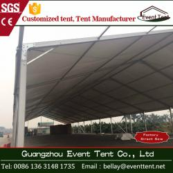 China Durable outdoor event tents , fire retardant large industrial tents for storage on sale