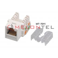 China Industry Standard Keystone Module Rj45 Punch Down Jack , Cat6 Rj45 Connector on sale