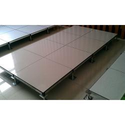 China 600 x 600 x 45mm anti-dust, antistatic Raised Computer Floors 52000 N / m2 Uniform Load on sale