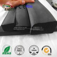 flat rubber gasket seal;rectangular shaped rubber extrusion seal