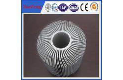 La Chine Radiateur rond en aluminium expulsé, conception de radiateur de tournesol nouvelle fournisseur