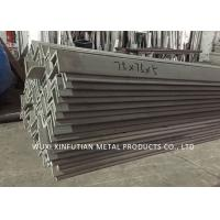 Pickled Surface 201 Stainless Steel Angle Bar ASTM A479 For Industry Use