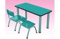 Doble ni os mesa sillas para mobiliario de aulas de for Sillas para ninos de preescolar