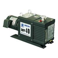 BSV40 12 L/s Oil Sealed Dual Stage Rotary Vane Vacuum Pump Lubricated in Green Color