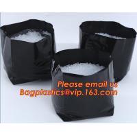 polyethylene black grow bags plastic plant pot seeding nursery bags,Effective UV Stabilized Black White Plastic Growing