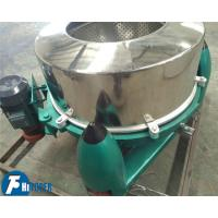 Stainless Steel Industrial Scale Centrifuge High Capacity Food & Oil Processing Usage