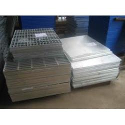 China White Indented Plate Of Auto Spray Booth Parts on sale