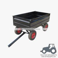 4WCART-17  4Wheel 17cubic. Utility Cart Trailers