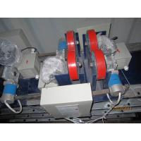 Customized 1 Tons  Pipe Welding Rotator With Hydraulic Up / Down Rolling Speed Change Siemens VFD