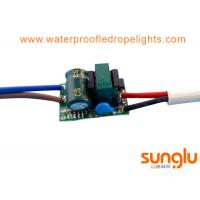 1 - 3W Isolated LED Downlight Driver , Constant Current LED Driver Replacement