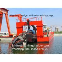 1500m³ River Sand Cutter Suction Dredger,Gold dredger