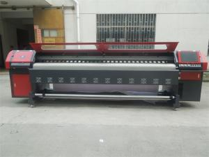 China 3.2m Spectra Polaris 512 Solvent Printer&Outdoor Flex Banner Printing Machine the King of the Speed supplier