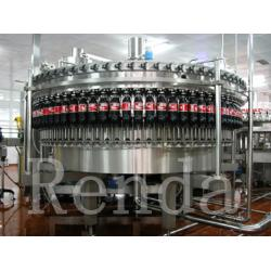 China Carbonated Drink Filling Plant PET Bottle Filling Machine With CO2 Mixing System on sale
