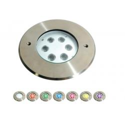 China Dimmable LED Underwater Pool Lights With 316 Stainless Steel Φ165mm X H54mm Dimension on sale