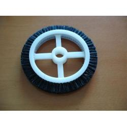 China LK Monforts Chengfu Bobcock Brucjner Senter Machinery Parts Brush Wheel Various on sale