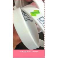 Eco-friendly Customized bulk cheap silicone wristbands