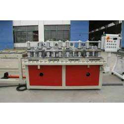 China Double Screw WPC Board Production Line , WPC Construction Template Production Line / Extruder on sale