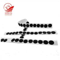 Reusable Self Adhesive Dots For Wire & Cable , Hook And Loop Sticker