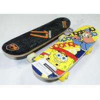 Sponge Baby Maple Wood Skateboards with Black Plastic Truck and Base 17 x 5