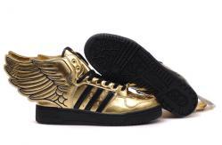 Jeremy Scott Adidas Originals or précité Fashion ailes Shoes
