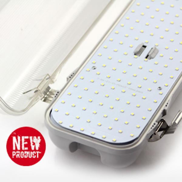 Outdoor IP65 5ft 60W Waterproof Fluorescent Light Fixtures