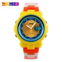 Japan Movement Battery Digital Wrist Watch Colorful PU Leather Strap