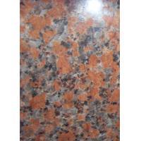 G562 Maple Red Polished Kitchen Floor Tiles , Large Polished Floor Tiles