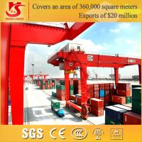 Hot rail-mounted container stacking cranes