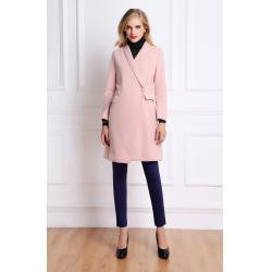 Pink Wool Coat Womens | Fashion Women's Coat 2017