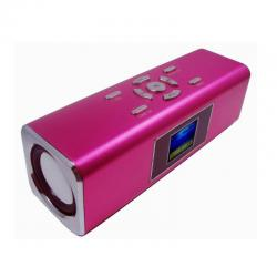 China 1.4*LCD screen mini professional speaker Built-in rechageable Lithium battery BT-SC42 on sale