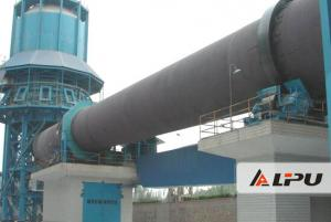 Metallurgy Chemical Industry Rotary Kiln Dryer For Calcining Cement Clinker